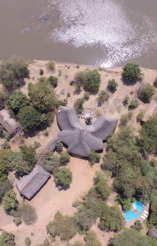 Thornicroft Lodge Aerial View