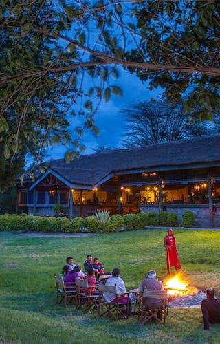Tipilikwani Mara Sunset Campfire
