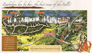 Tour Of Vic Falls Map