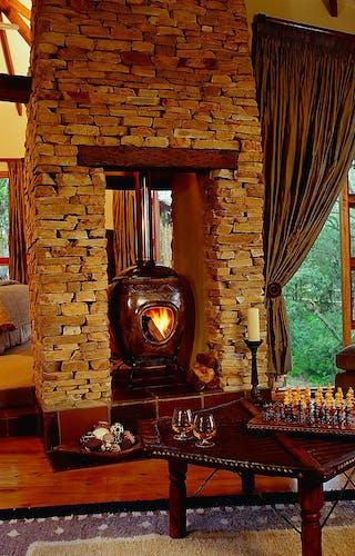 Tsala Treetops Fireplace