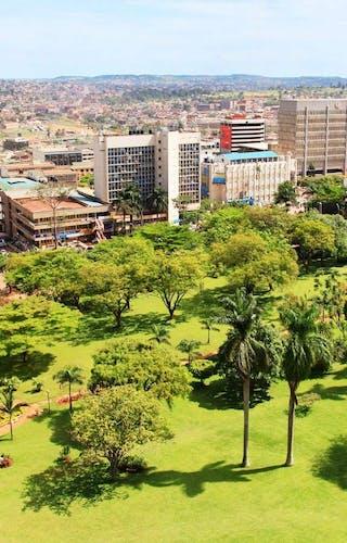 Kampala Aerial View Visit Kampala