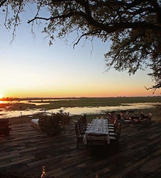 Zafara Camp Sunset Dining And View