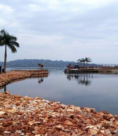 Victoria Lake Entebbe Uganda