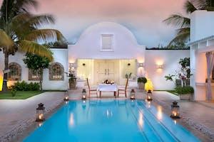 Pool At  Villa  Santorini