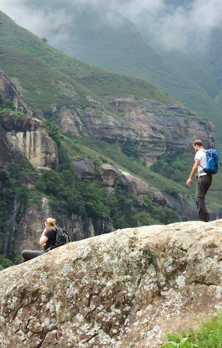 South Africa Drakensberg Royal Natal Np Lucky Mabaso
