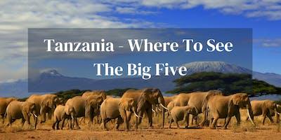 Where To See Big Five Tanzania