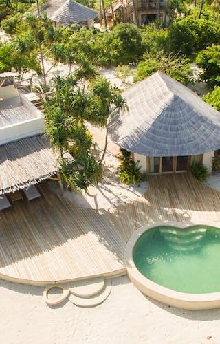 White Sand Beachfront Villa Airel View