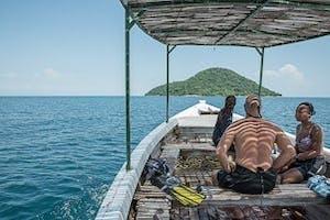 Zma16  Lake Malawi Boat Trip